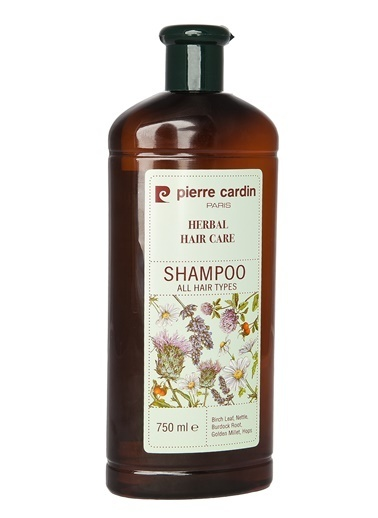 Pierre Cardin Herbal Bitkisel Büyük Boy  Şampuan  (Tüm Saç Tipleri) - 750 ML Renksiz